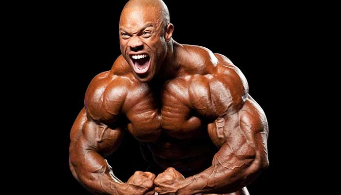 história do phil heath
